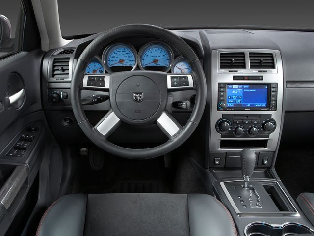 2010 Dodge Charger Prices and Values Sedan 4D SRT-8 driver's dashboard