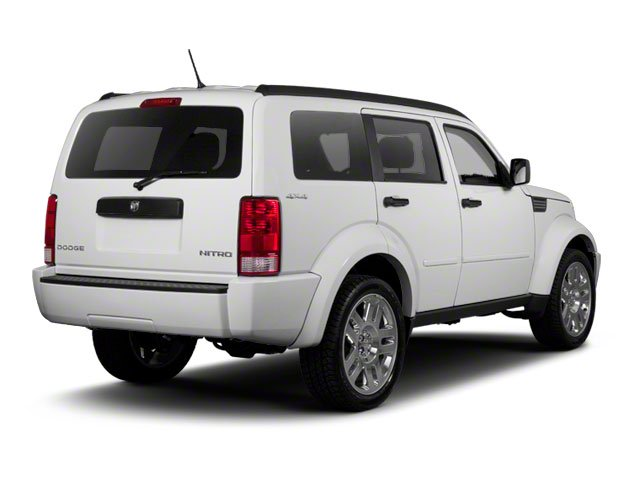 2010 Dodge Nitro Prices and Values Utility 4D Heat 4WD side rear view