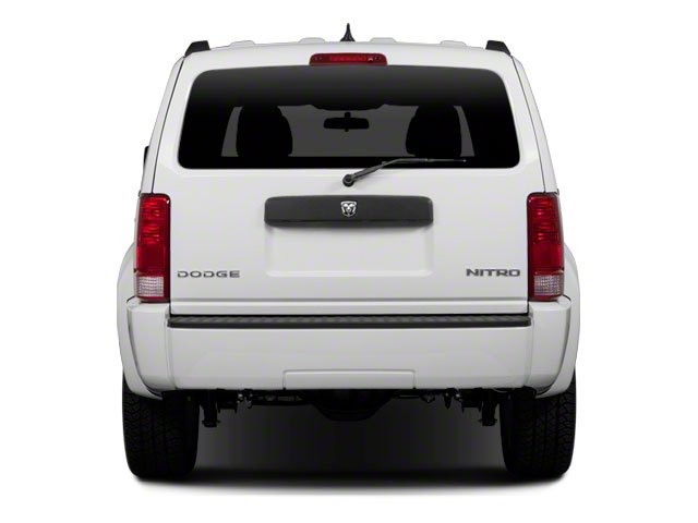 2010 Dodge Nitro Prices and Values Utility 4D Heat 4WD rear view