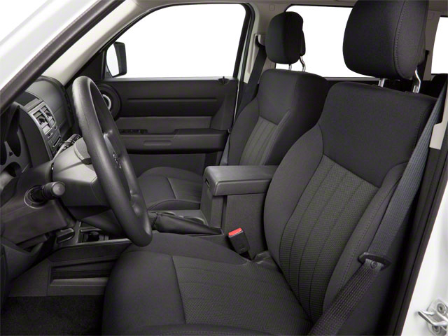 2010 Dodge Nitro Prices and Values Utility 4D Heat 4WD front seat interior