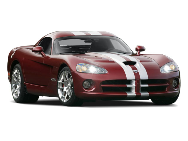 2010 Dodge Viper Prices and Values 2 Door Coupe side front view