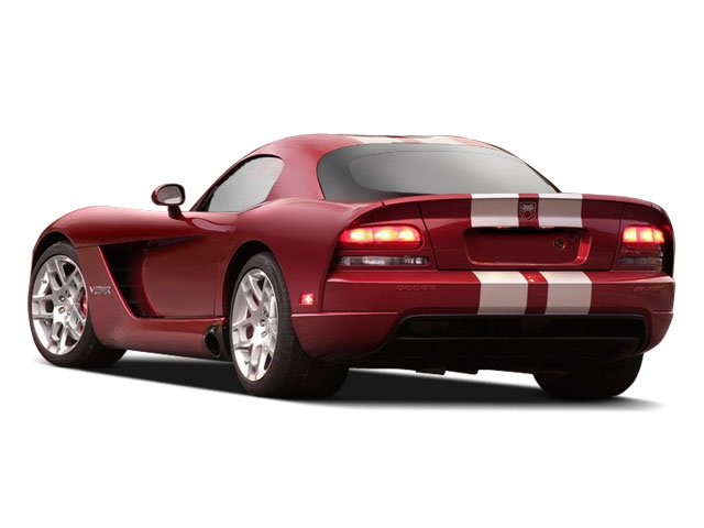 2010 Dodge Viper Prices and Values 2 Door Coupe side rear view