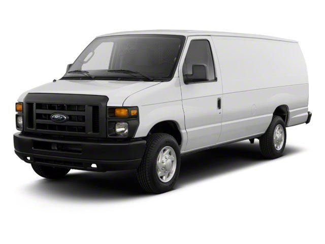 2010 Ford Econoline Wagon Prices and Values Super Duty Extended Wagon XL side front view
