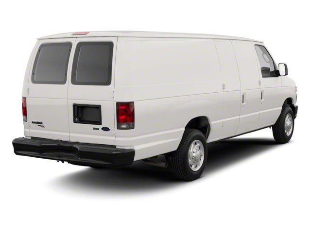 2010 Ford Econoline Wagon Prices and Values Super Duty Extended Wagon XL side rear view