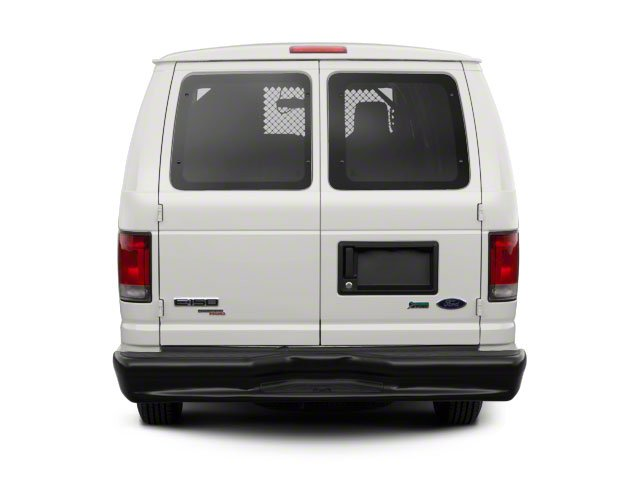 2010 Ford Econoline Wagon Prices and Values Super Duty Extended Wagon XL rear view