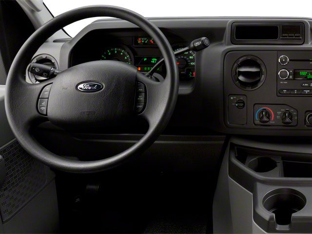 2010 Ford Econoline Wagon Prices and Values Super Duty Extended Wagon XL driver's dashboard
