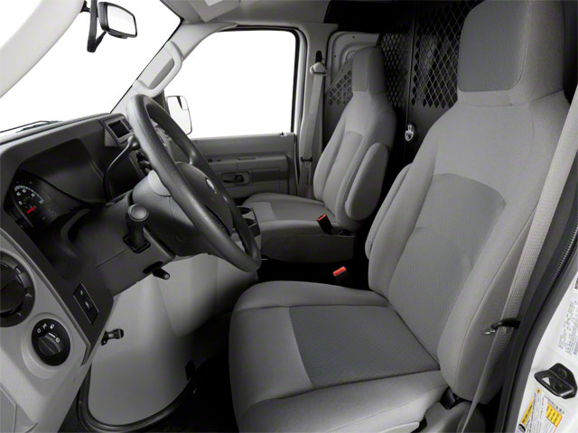 2010 Ford Econoline Wagon Prices and Values Super Duty Extended Wagon XL front seat interior