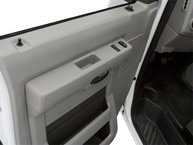 2010 Ford Econoline Wagon Prices and Values Super Duty Extended Wagon XL driver's door