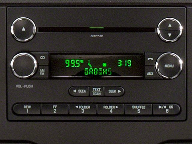 2010 Ford Econoline Wagon Prices and Values Super Duty Extended Wagon XL stereo system