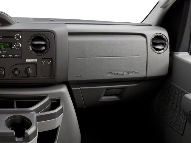 2010 Ford Econoline Wagon Prices and Values Super Duty Extended Wagon XL passenger's dashboard
