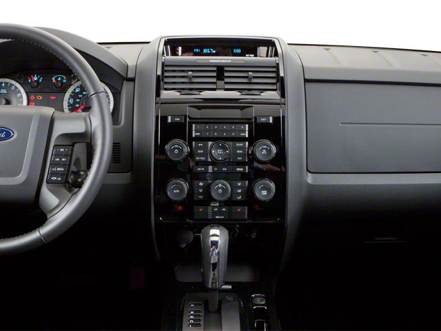 2010 Ford Escape Prices and Values Utility 4D XLT 2WD (V6) center dashboard