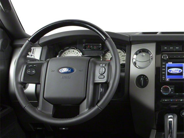 2010 Ford Expedition Prices and Values Utility 4D XLT 4WD driver's dashboard