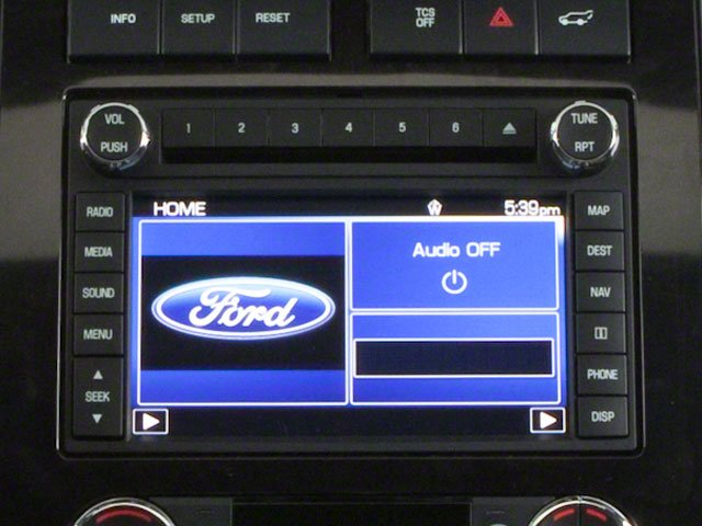 2010 Ford Expedition Prices and Values Utility 4D XLT 4WD stereo system
