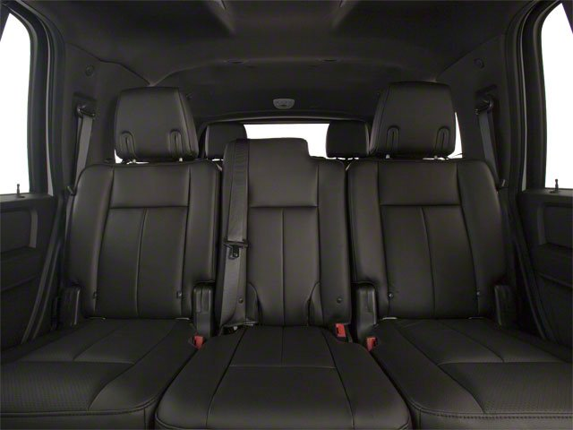 2010 Ford Expedition Prices and Values Utility 4D XLT 4WD backseat interior