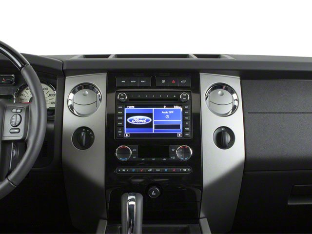 2010 Ford Expedition Prices and Values Utility 4D XLT 4WD center dashboard