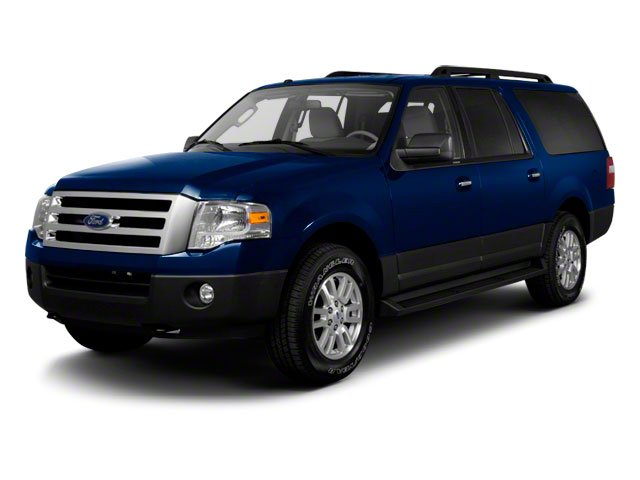 2010 Ford Expedition EL Prices and Values Utility 4D XLT 4WD side front view