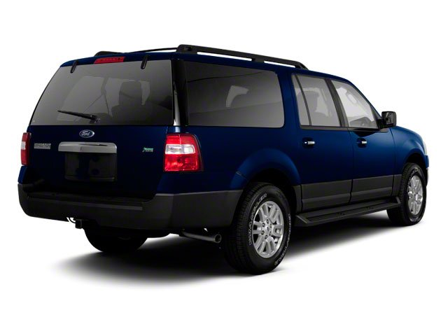 2010 Ford Expedition EL Prices and Values Utility 4D XLT 4WD side rear view