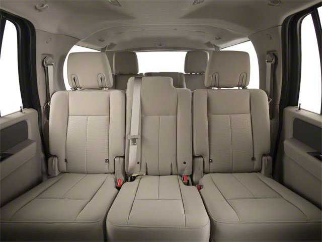 2010 Ford Expedition EL Prices and Values Utility 4D XLT 4WD backseat interior
