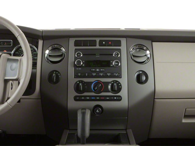 2010 Ford Expedition EL Prices and Values Utility 4D XLT 4WD center dashboard