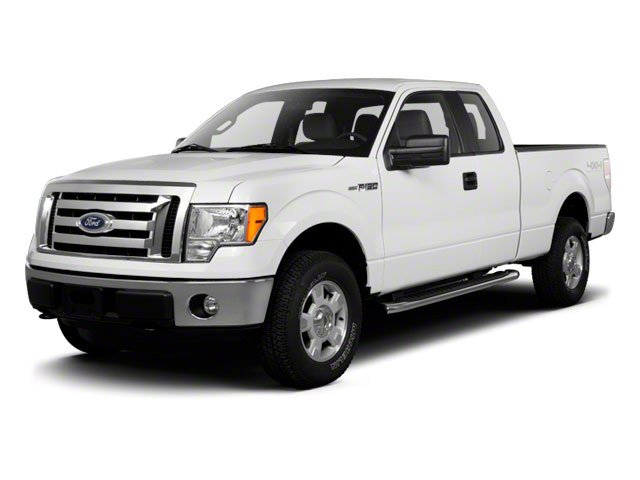 2010 Ford F-150 Prices and Values SuperCab STX 4WD side front view