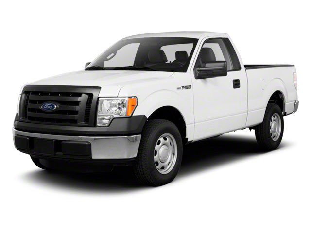 2010 Ford F-150 Pictures F-150 Regular Cab XLT 2WD photos side front view