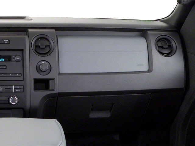 2010 Ford F-150 Pictures F-150 Regular Cab XLT 2WD photos passenger's dashboard