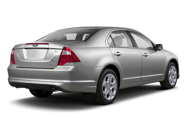 2010 Ford Fusion Prices and Values Sedan 4D S side rear view