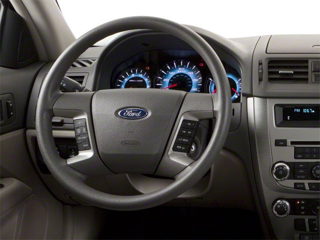 2010 Ford Fusion Prices and Values Sedan 4D S driver's dashboard