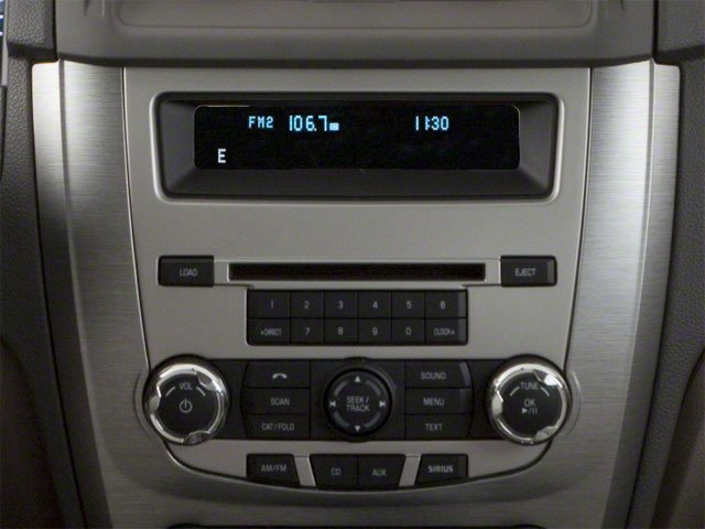 2010 Ford Fusion Prices and Values Sedan 4D S stereo system