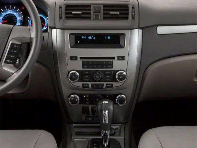 2010 Ford Fusion Prices and Values Sedan 4D S center console