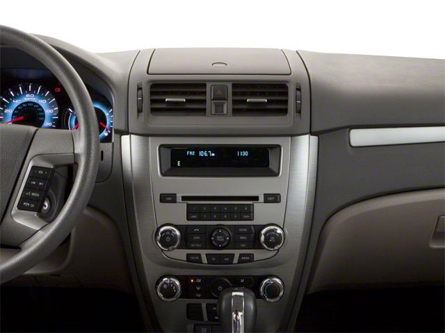 2010 Ford Fusion Prices and Values Sedan 4D S center dashboard