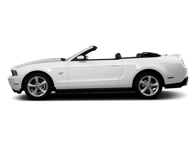 2010 Ford Mustang Prices and Values Convertible 2D side view