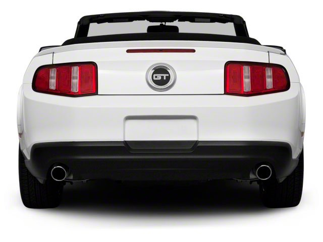 2010 Ford Mustang Prices and Values Convertible 2D rear view
