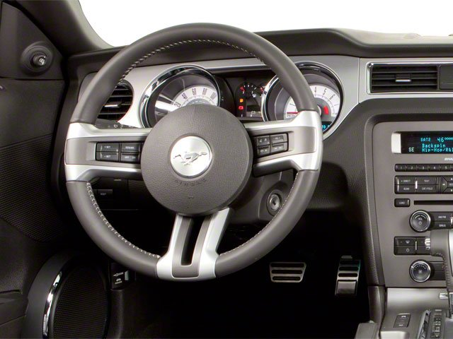 2010 Ford Mustang Prices and Values Convertible 2D driver's dashboard