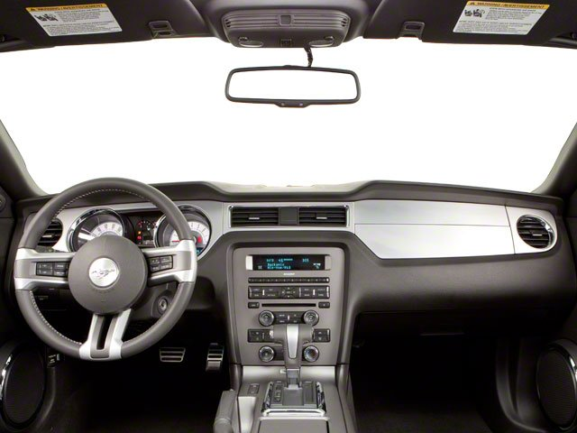 2010 Ford Mustang Prices and Values Convertible 2D full dashboard