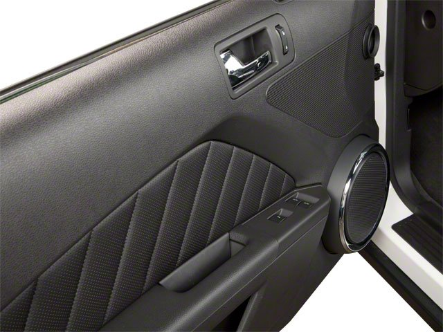 2010 Ford Mustang Prices and Values Convertible 2D driver's door