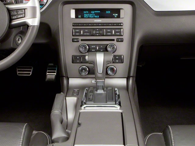 2010 Ford Mustang Prices and Values Convertible 2D center console