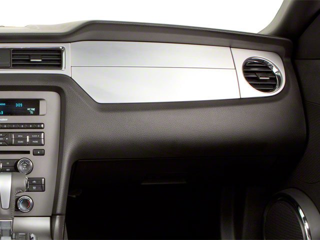 2010 Ford Mustang Prices and Values Convertible 2D passenger's dashboard