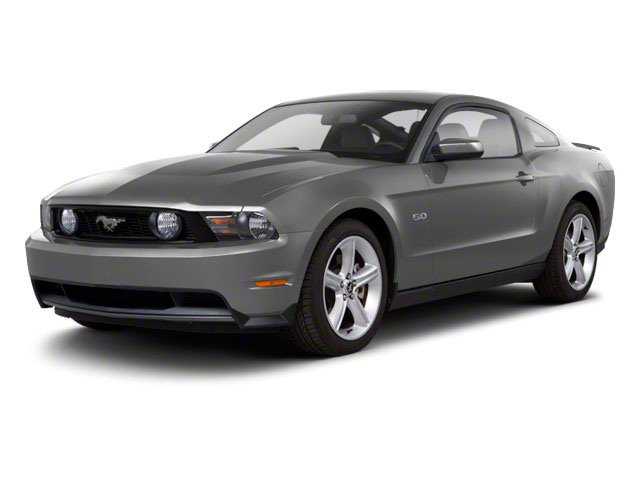 2010 Ford Mustang Pictures Mustang Coupe 2D photos side front view