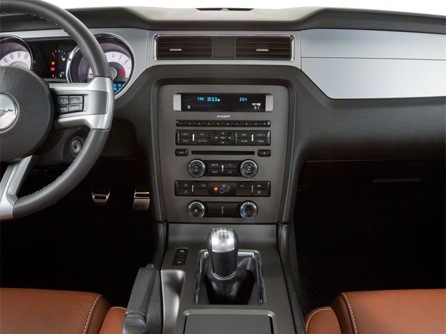 2010 Ford Mustang Pictures Mustang Coupe 2D photos center console