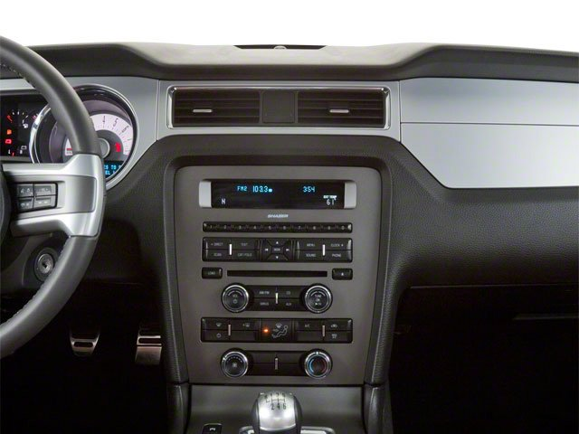 2010 Ford Mustang Pictures Mustang Coupe 2D photos center dashboard