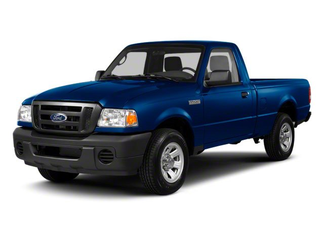 2010 Ford Ranger Pictures Ranger Regular Cab XLT (4 Cyl.) photos side front view