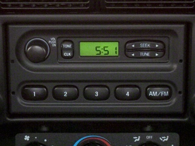 2010 Ford Ranger Pictures Ranger Regular Cab XLT (4 Cyl.) photos stereo system