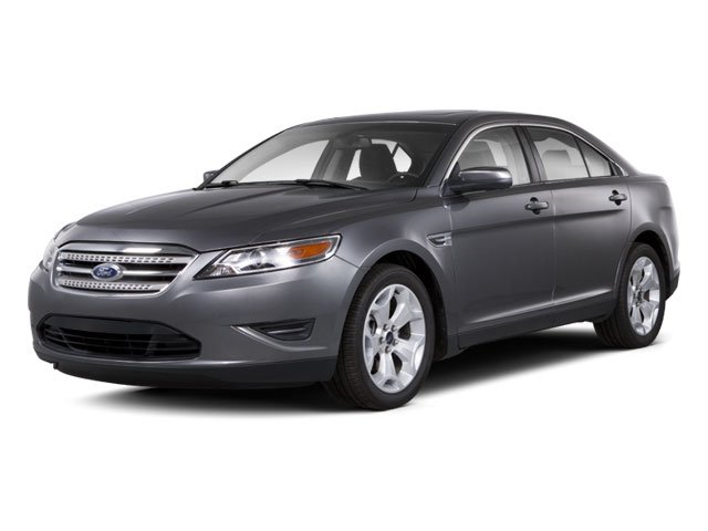 2010 Ford Taurus Prices and Values Sedan 4D SE side front view