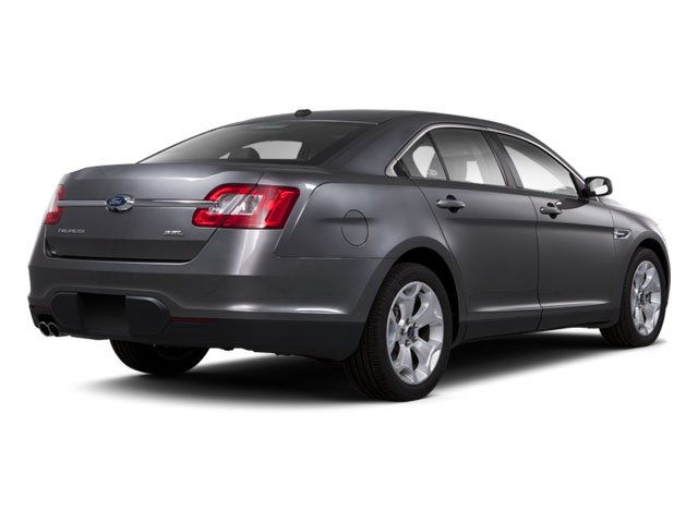 2010 Ford Taurus Prices and Values Sedan 4D SE side rear view