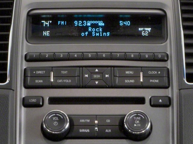 2010 Ford Taurus Prices and Values Sedan 4D SE stereo system