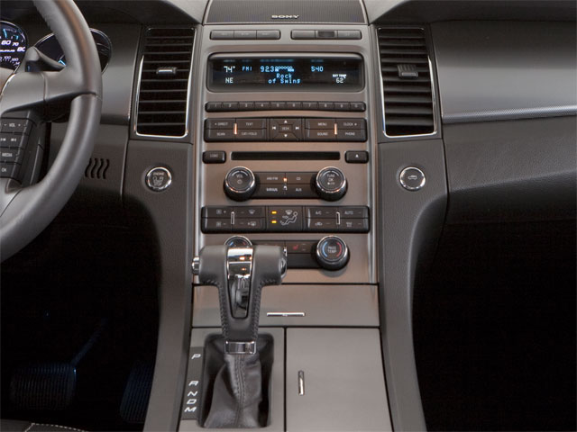 2010 Ford Taurus Prices and Values Sedan 4D SE center console