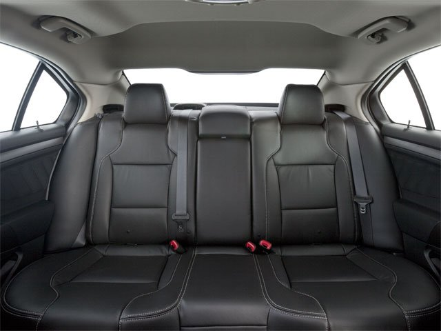 2010 Ford Taurus Prices and Values Sedan 4D SE backseat interior