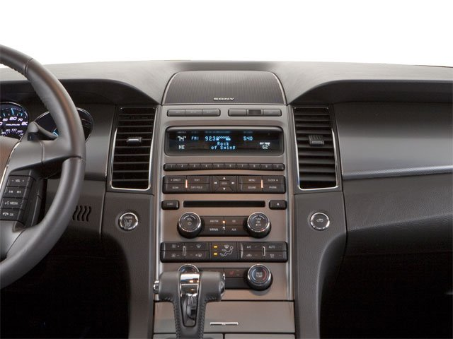 2010 Ford Taurus Prices and Values Sedan 4D SE center dashboard