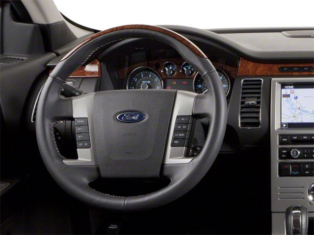 2010 Ford Flex Prices and Values Wagon 4D SEL 2WD driver's dashboard